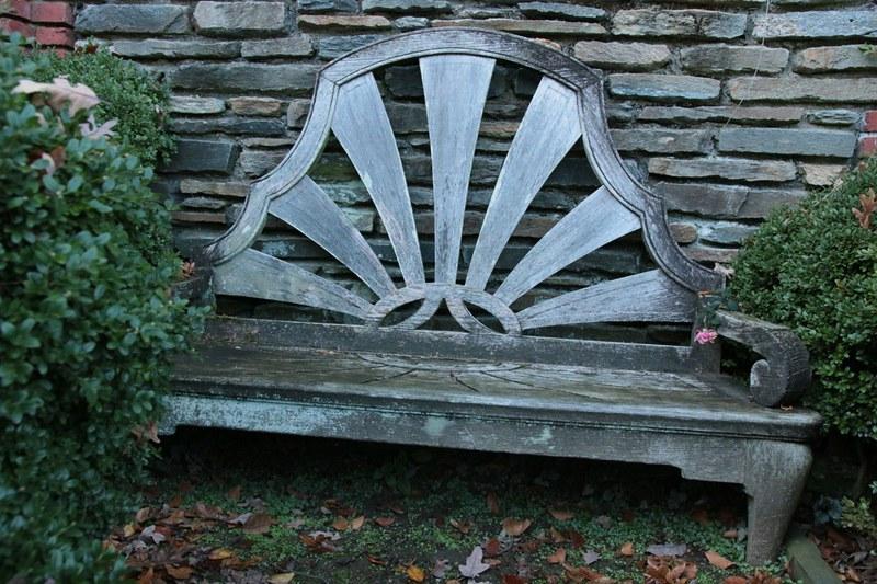 Rose Garden, Bench