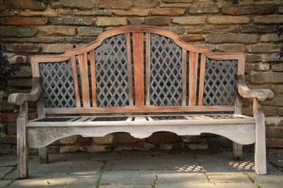 Fountain Terrace, Bench