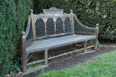 Herbaceous Border, Bench