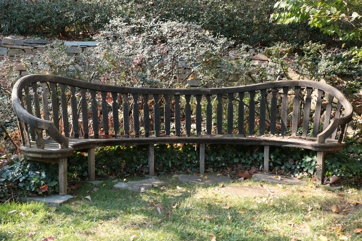 Prunus Walk, Bench