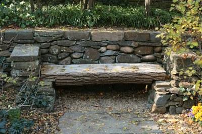 Lilac Circle, Bench